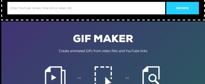 [Web] Giphy:Youtube、Vimeo、Vine,通通線上幫你轉成 Gif!