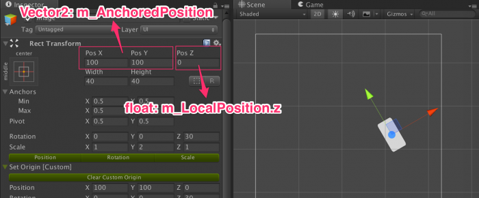 [Unity] Custom Editor (2) – RectTransform Reset